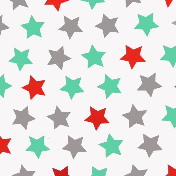 Ткань мятные звезды - студия SOVA
