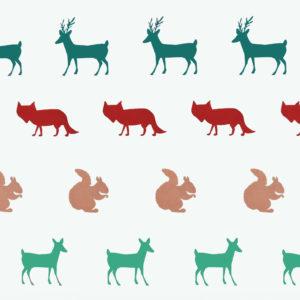 Ткань животные - студия SOVA