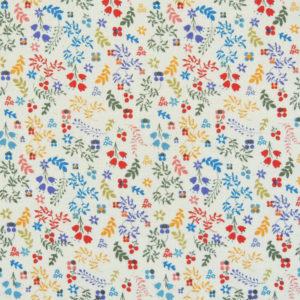 Ткань мелкий цветочек - студия SOVA