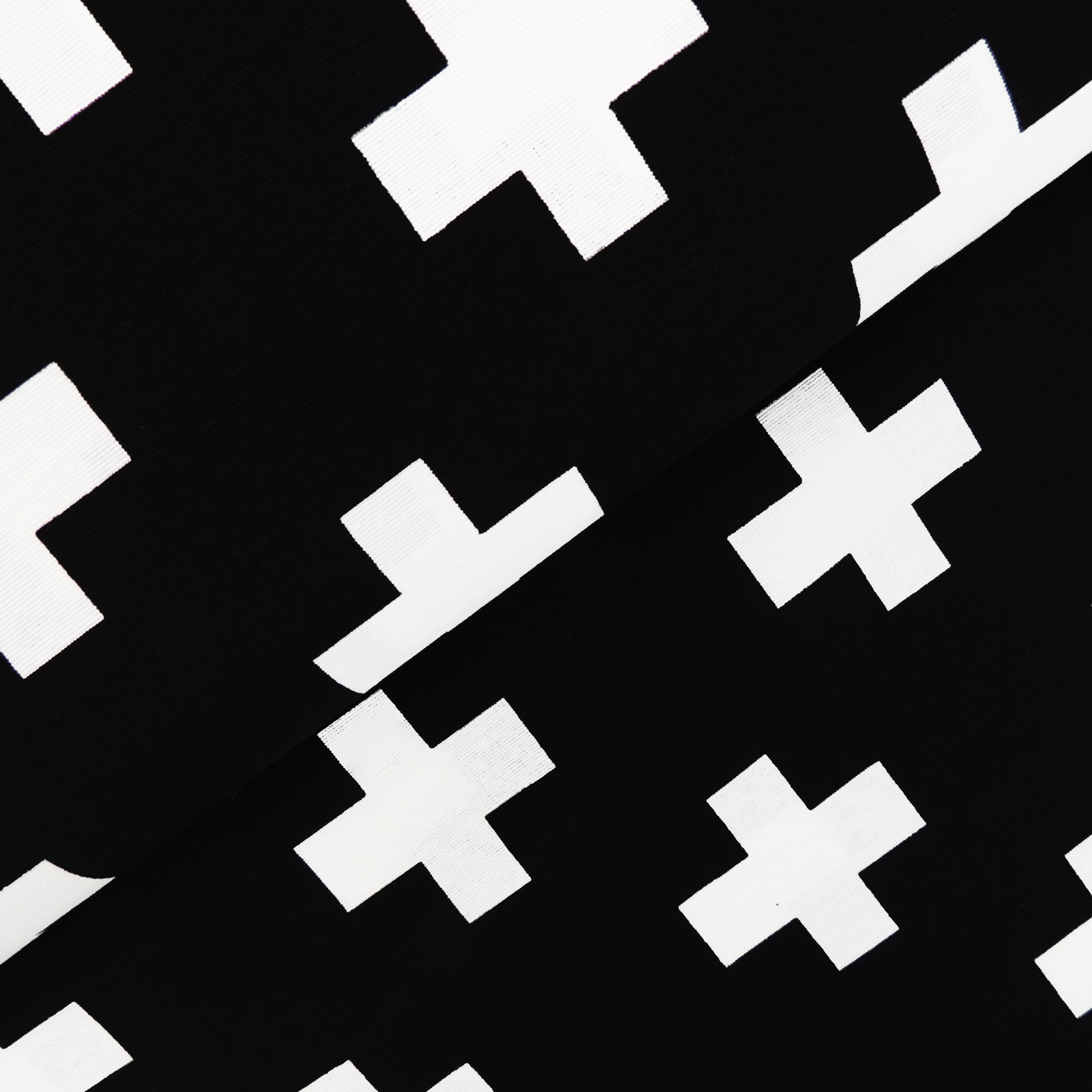 Канвас белые кресты - студия SOVA