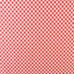 Ткань красная клетка - студия SOVA