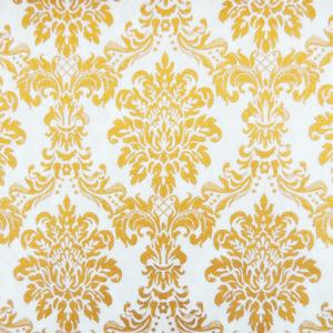 Ткань дамаск золото