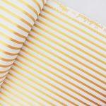 Ткань золотая полоска