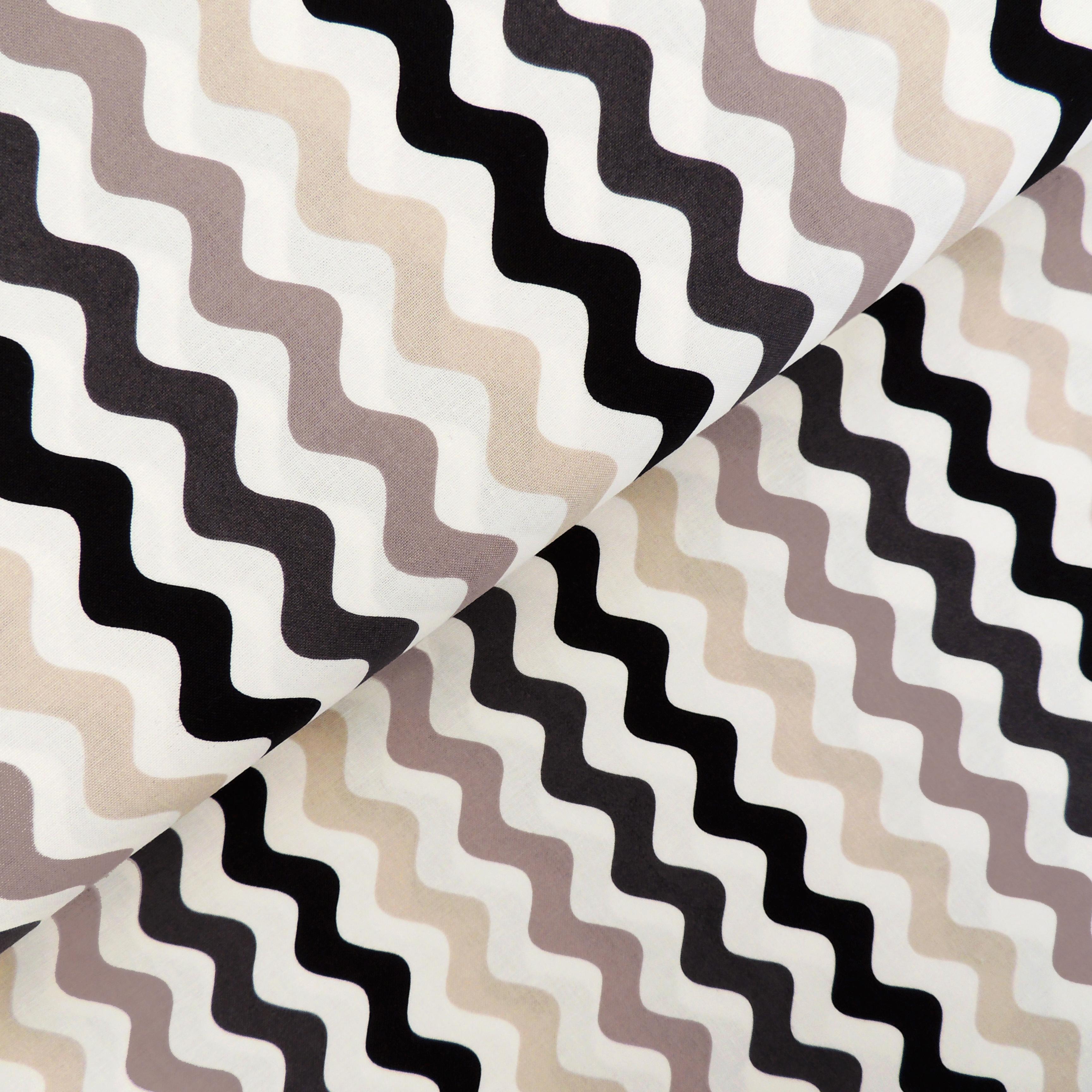 Ткань серая волна - студия SOVA