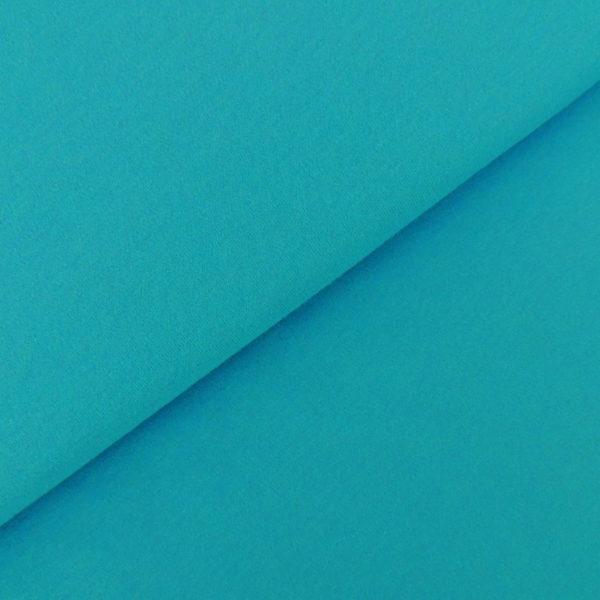 Трикотаж бирюзово-синий- студия SOVA