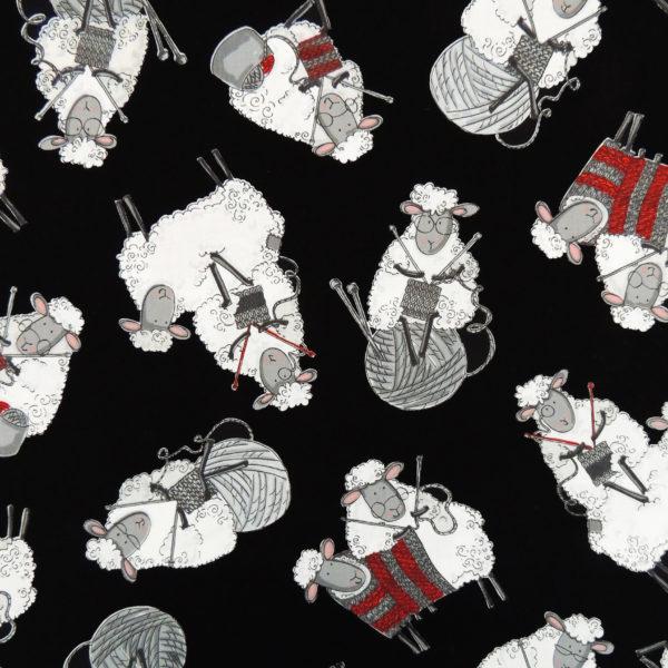 Ткань овечки - студия SOVA