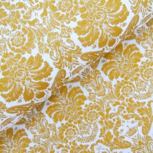 Ткань дамаск золотой - студия SOVA
