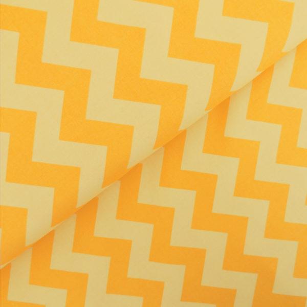 Ткань желтый шеврон - студия SOVA