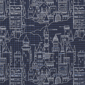 Ткань замок - студия SOVA