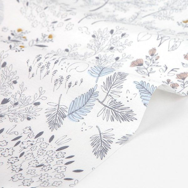 Ткань листья Dailylike - студия SOVA