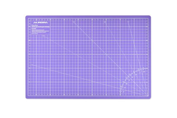 Коврик раскройный 60*45см OLFA Фиолетовый