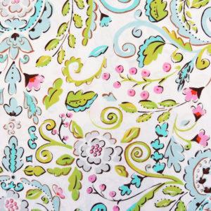 Ткань ягодный сад - студия SOVA