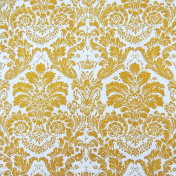 Ткань дамаск золотой