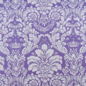 Ткань дамаск фиолетовый