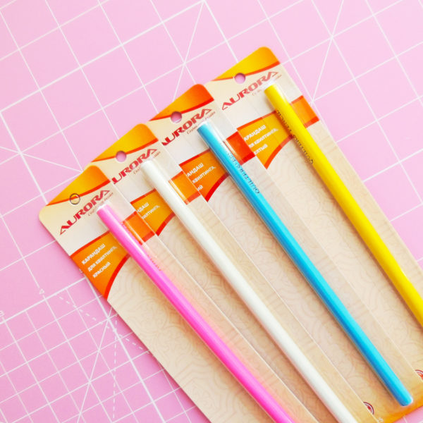 Карандаши для квилтинга разноцветные - студия SOVA