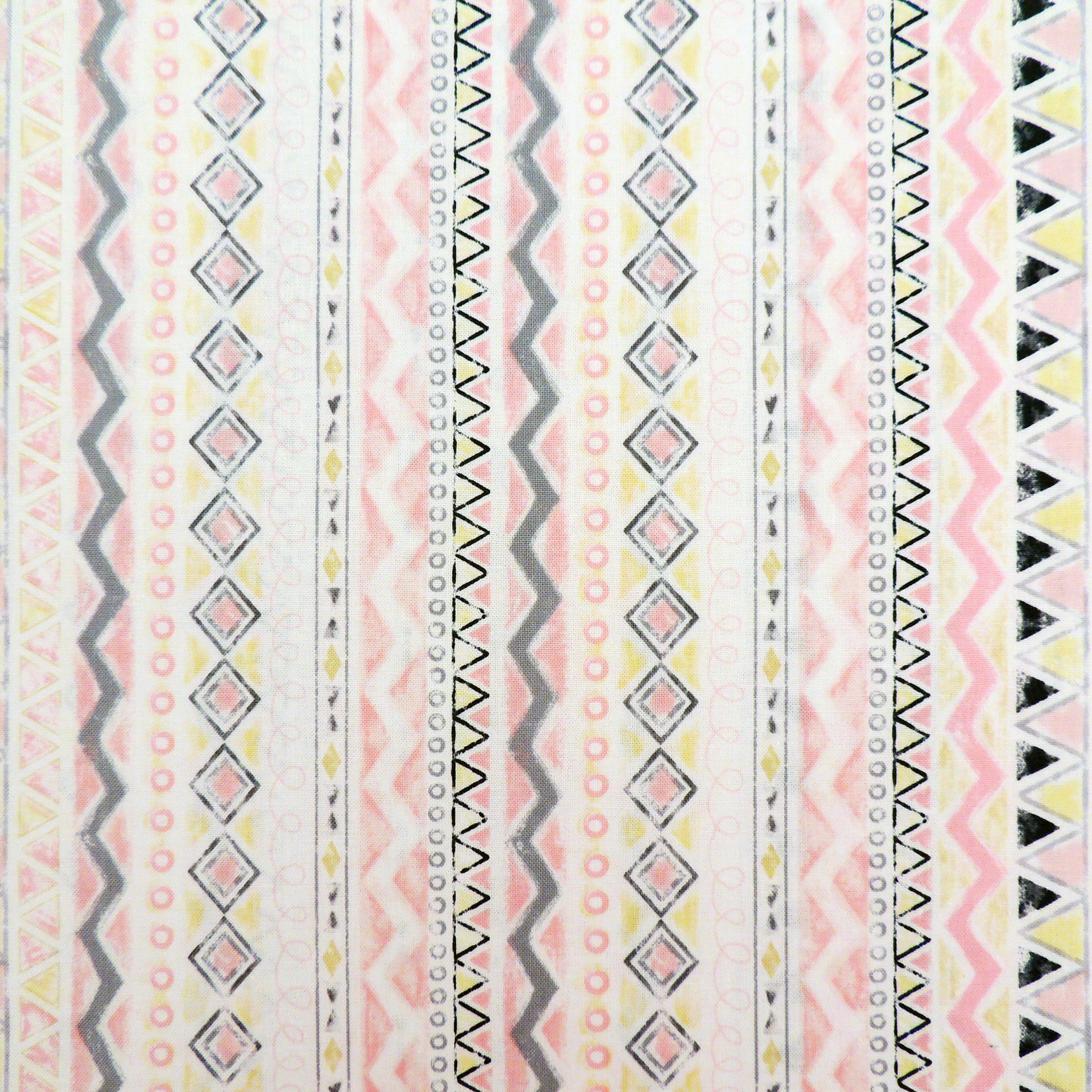 Ткань индейский орнамент - студия SOVA