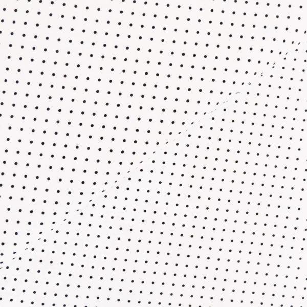 Ткань черный горошек - студия SOVA