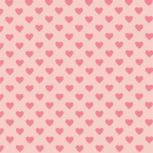 Ткань сердечки розовые - студия SOVA
