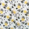 Ткань цветы с золотом