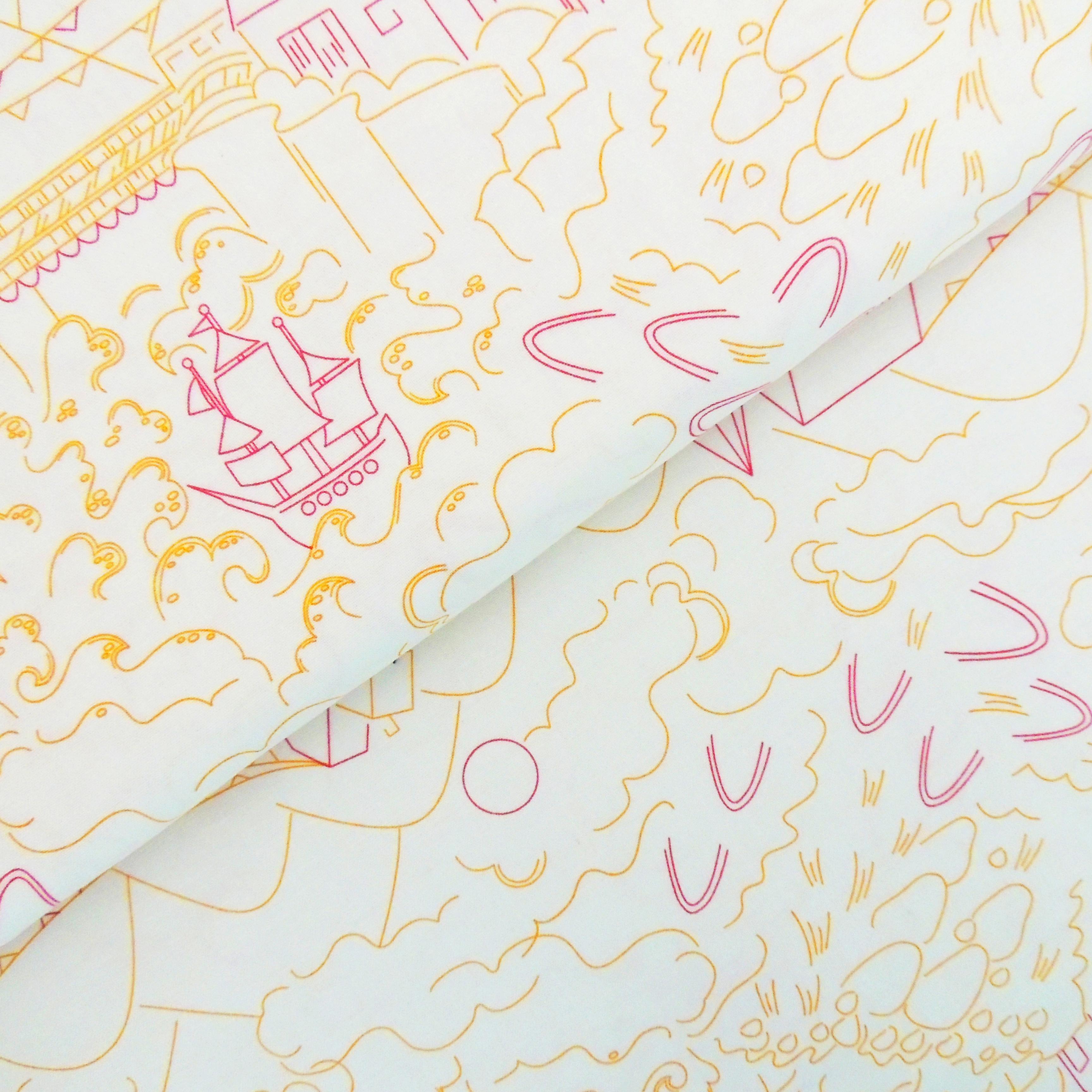 Ткань тридевятое царство - студия SOVA