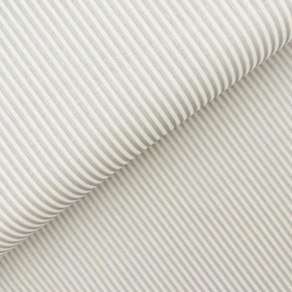 Ткань серебряная полоска - студия SOVA