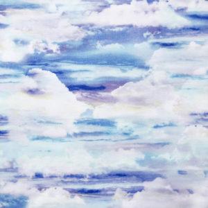 Ткань небо - ZIGZAG SHOP