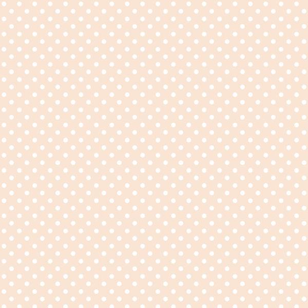 Ткань горох персиковый - студия SOVA