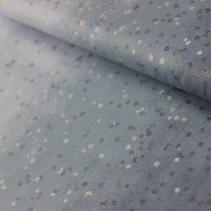 Ткань голубой градиент