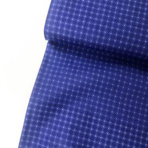 Ткань синие точки