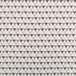 Ткань серые треугольники - студия SOVA