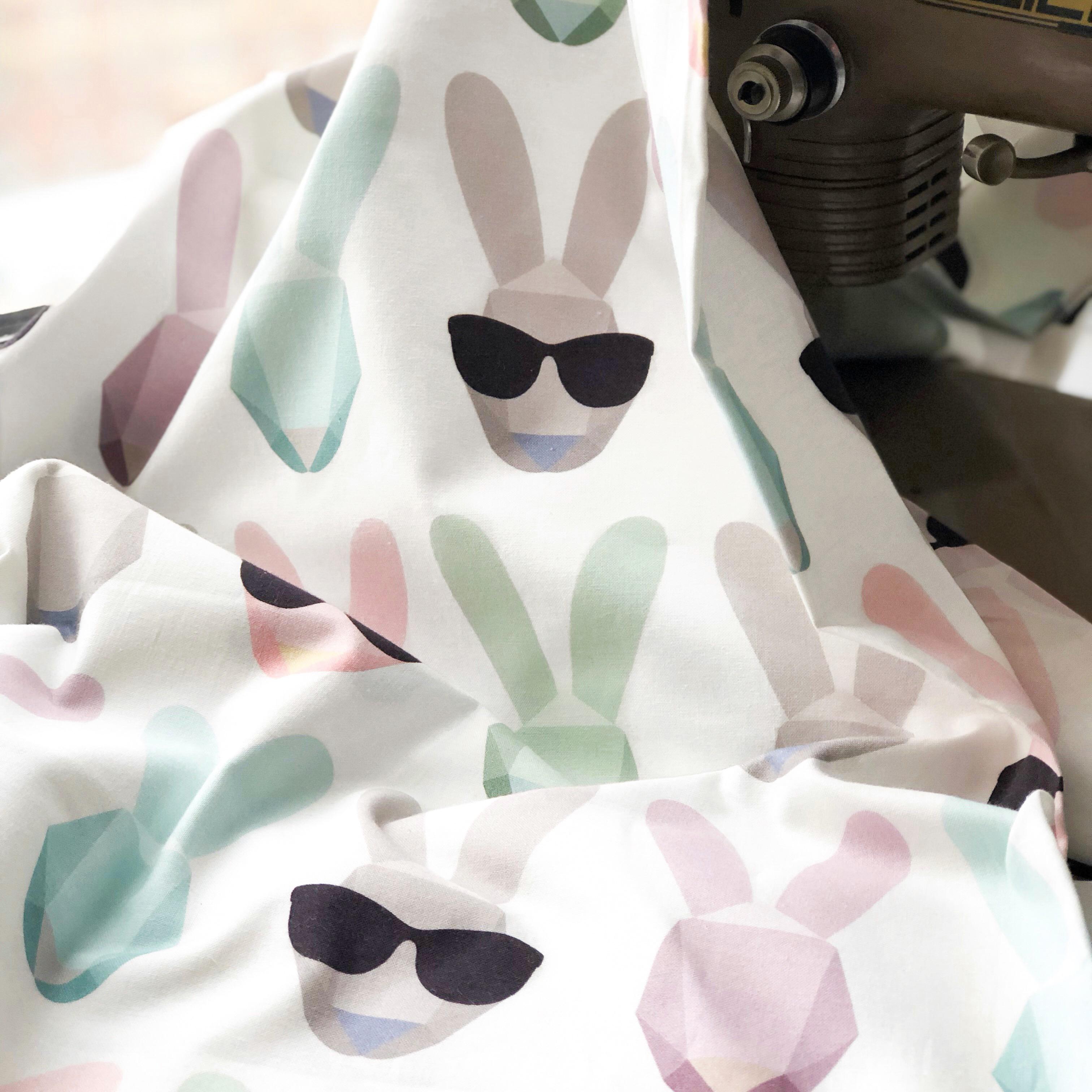 Ткань зайцы - студия SOVA