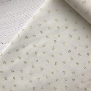 Ткань белые вензеля