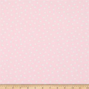 Ткань розовый горох Miller