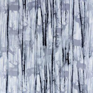 Ткань серые олени - студия SOVA