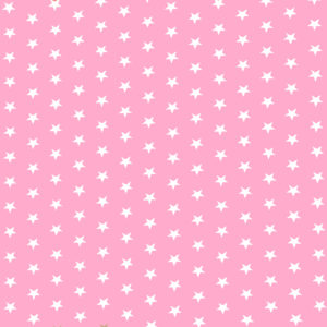 Ткань розовые звездочки - студия SOVA