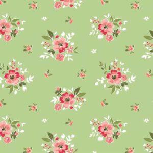 Ткань цветы Riley Blake