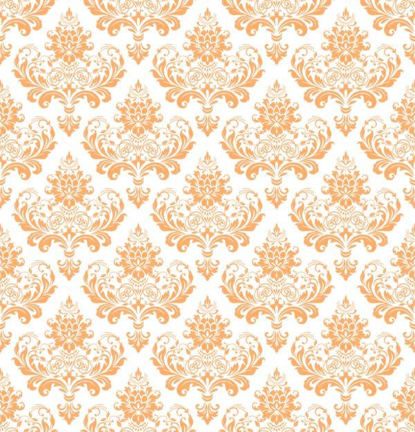 Ткань дамаск персик софт - студия SOVA