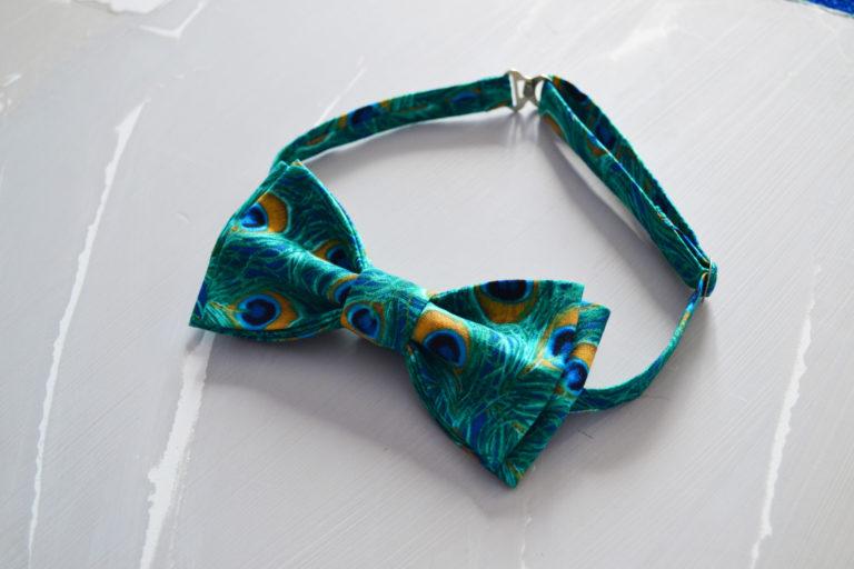 Ткань перо павлина - студия SOVA