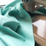 Ткань пыльная мята - студия SOVA