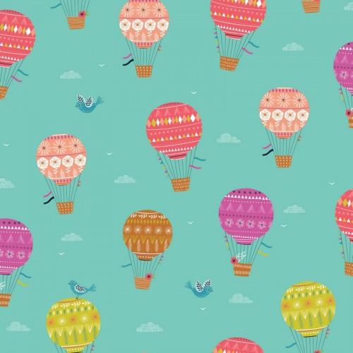 Ткань воздушные шары - студия SOVA