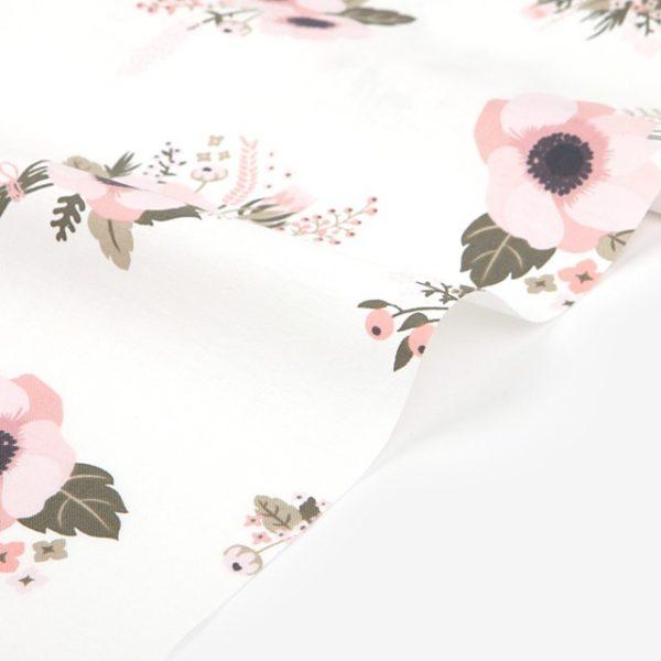 Ткань крупные цветы Dailylike - студия SOVA