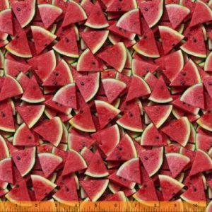 Ткань арбуз