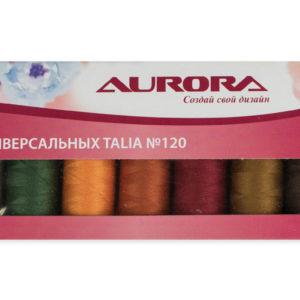 Набор универсальных ниток Talia #120. Осень