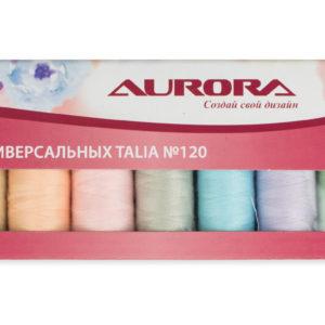 Набор универсальных ниток Talia #120. Весна