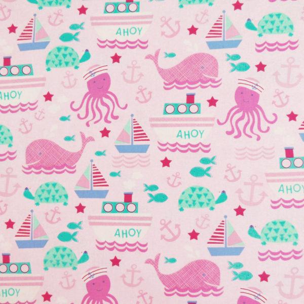 Ткань киты - ZIGZAG SHOP