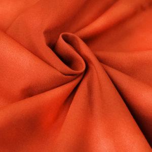 Ткань акварель оранжевая