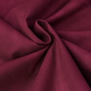 Ткань акварель бордовая