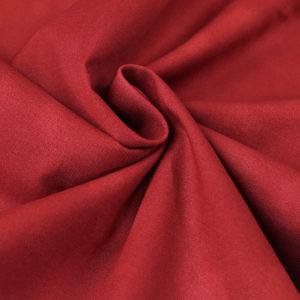 Ткань акварель красная