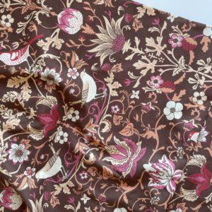 Ткань красные птицы Morris