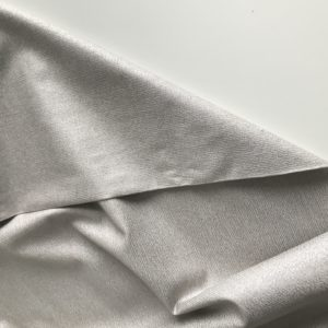 Ткань бежевая с серебром